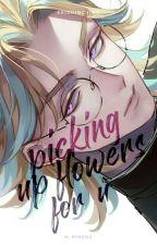 Picking up flowers for u // Rindou Haitani by erichinchinn
