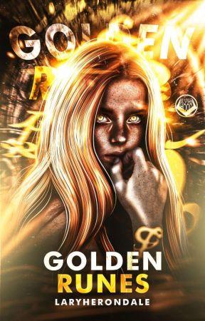 Golden Runes - Alec Lightwood (Shadowhunters)  by LaryHerondale