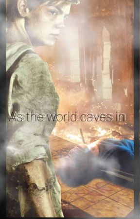 as the world caves in by M4rsbby