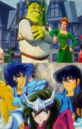 Shrek 3 (versión Saint Seiya) by AnaMariaIsabelAntayh