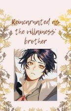 Reincarnated as the villainess' brother by rowbotontheopensky
