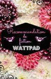 Recommandation de fiction Wattpad (Pause)  cover
