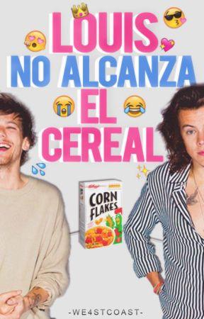 Louis no alcanza el cereal by -WE4STCOAST-