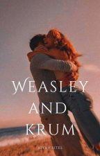 Weasley and Krum by AiyaAdriculaAveria