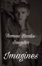 Thomas Brodie Sangster imagines  by ThomasxBxGangster