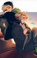 Ranboo x Tubbo (Highschool AU) by _depressedweirdo_