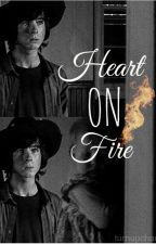 Heart on Fire (Chandler Riggs) by turnupholland