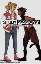 """Study Sessions"" - Catradora College AU by uhdora"