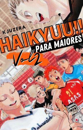 Haikyuu para Maiores Vol.2 by kjuzera