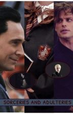 sorceries and adulteries. a harry potter mix with loki and spencer reid x reader by spencerreidswhorexd
