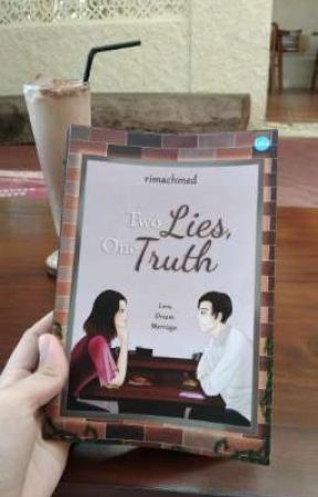 Two Lies, One Truth (Behind The Book) by rimachmed_