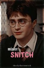 mister snitch ║ h.p x reader (social media) by theslytherinwitch