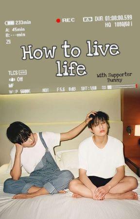 How To Live Life |Taekook Texting  by whatevermiashi