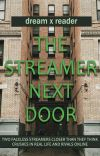 the streamer next door | dreamwastaken x reader fanfic cover