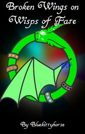 Broken Wings on Wisps of Fate by Bluekittyhorse