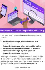 Top Reasons To Have Responsive Web Design by josephdennyy01