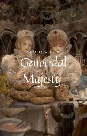 Genocidal Majesty (James Hetfield, METALLICA, suspenso)  by Metallica_lady