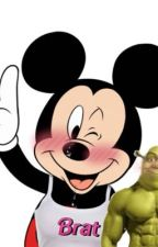 Mickey and Shrek love story by biancatheweirdo