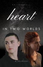Heart In Two Worlds (G!p Natasha Romanoff x Stark!Fem!Reader x Lena Luthor) by N_Delregui