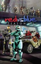 Red vs blue (Female OC) by maddiebear17