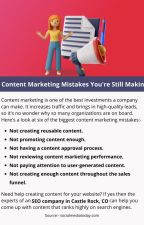 6 Content Marketing Mistakes You're Still Making by josephdennyy01
