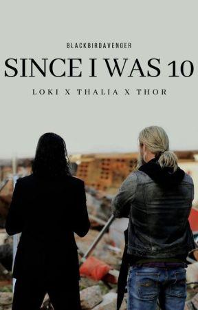 Since I was 10 // Loki X Thalia X Thor by blackbirdavenger