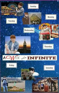 A Week With Infinite [Infinite Fanfic] cover