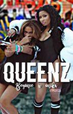 QUEENZ - Beyoncé x Nicki Minaj by Platypuspiss