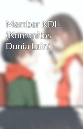 Member KDL (Komunitas Dunia Lain) by Inaliem96
