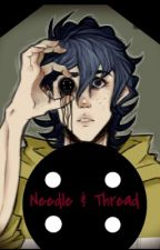 Needle & Thread (Male! CoralinexReader)  by Bluegarnet123