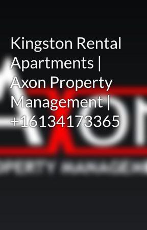 Kingston Rental Apartments | Axon Property Management | +16134173365 by axonproperties