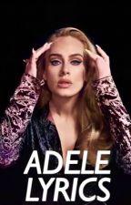 Adele Lyrics by pinkvertical