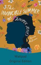 The Invincible Summer of Juniper Jones by keyframed