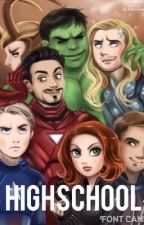 High School (AU) (Avengers) by jaycer26