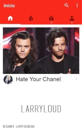Hate your channel (AU! Youtubers)  by larryloud