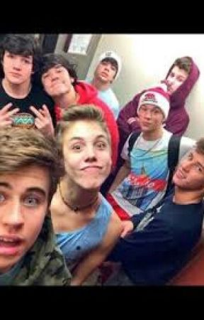 Me and the crew (Magcon fan fiction) by WeOkayAlways