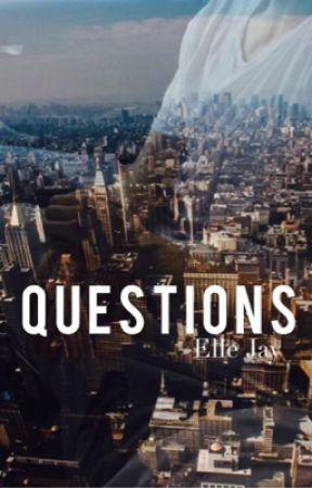Questions (Julian Jordan Fanfiction) by martingarrix