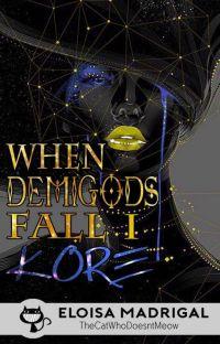When Demigods Fall Book 1: KORE cover
