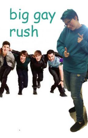 big gay rush. // btr au by mukeday