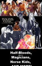 Half-Bloods, Magicians, Norse Kids, And More! by SRim13