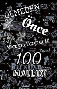 ÖLMEDEN ÖNCE YAPILACAK 100 @SELİNSİNN cover
