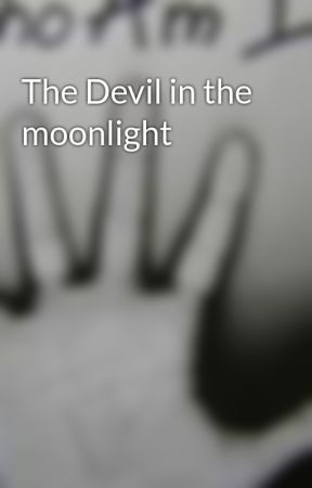The Devil in the moonlight by keepoutdogface