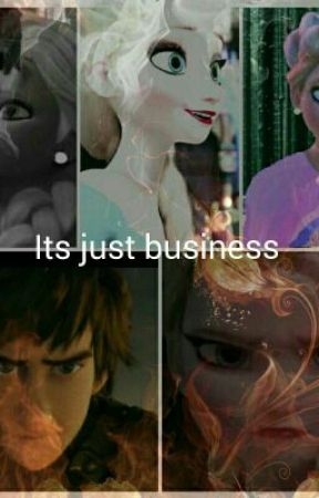 It's Just Business ( hiccelsa ) Modern by Queen-Elsa-Arendelle