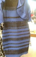 Gold and white or blue and black by kekewritesbooks