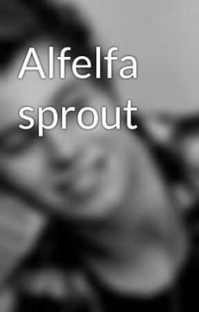 Alfelfa sprout by MeliBug