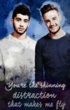 You're the shining distraction that makes me fly   traducido. cover