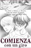 Starts with a Spin (fanfic Harco/Drarry) cover