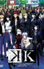K Project x Reader by dat_unknown