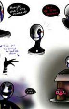Behind The Mask (Marionette x Jeremey) by FNAF_BFCF