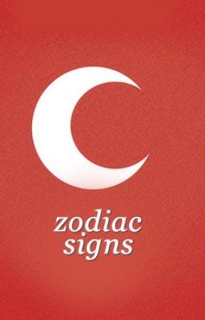 ♔ Zodiac Signs ♔ by -Endgamer-